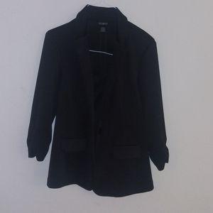 Soho apparel blazer black